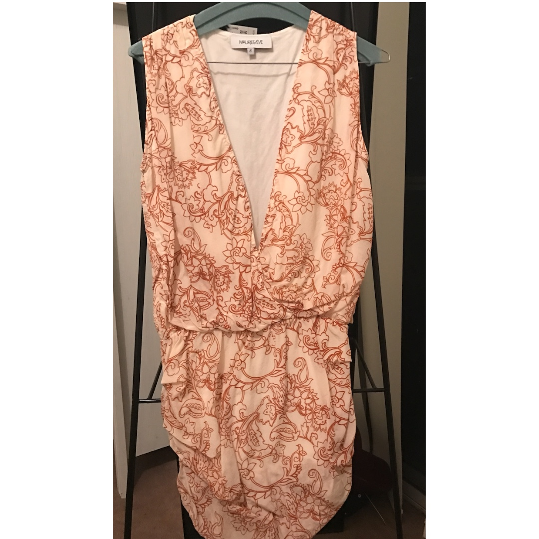 Maurie & Eve Floral Mini Dress Size 8
