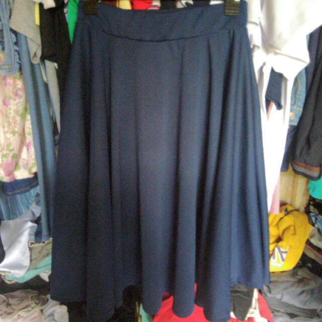 Maxi Blue Skirt