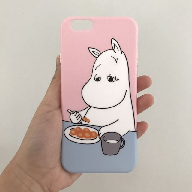 Moomin pink case