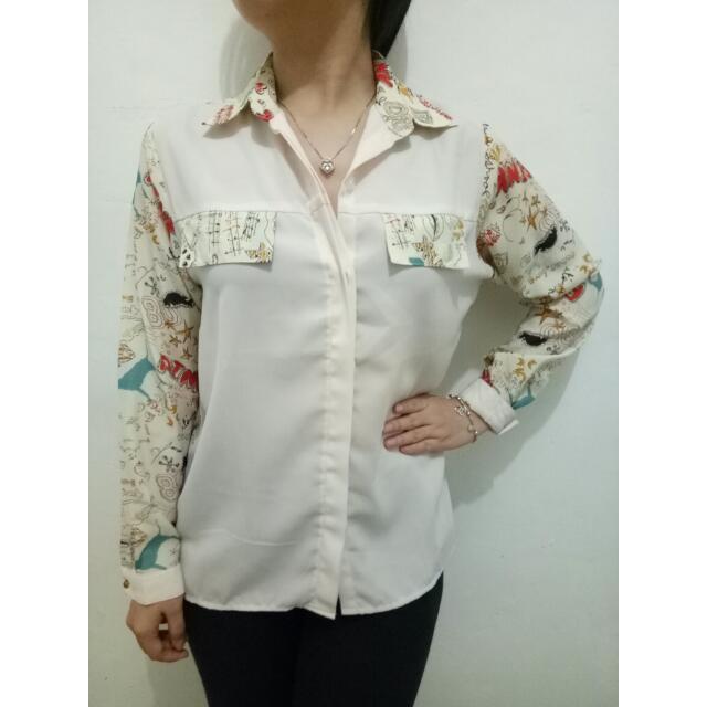 Motif Long Shirt