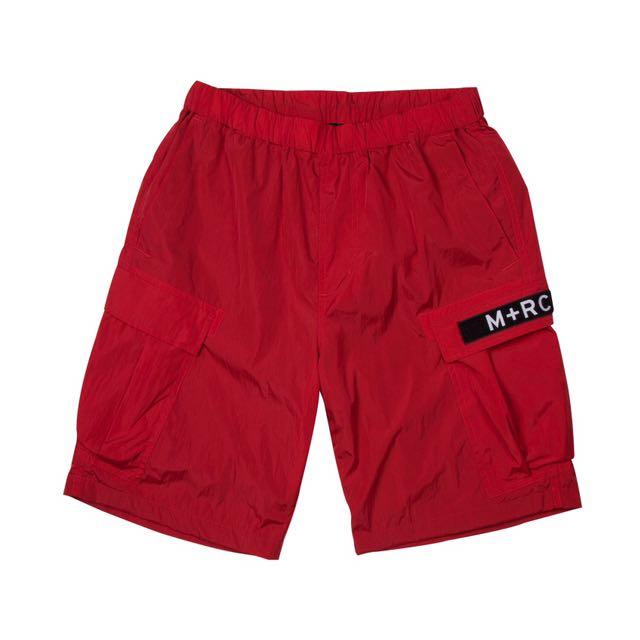 M+RC 短褲 紅