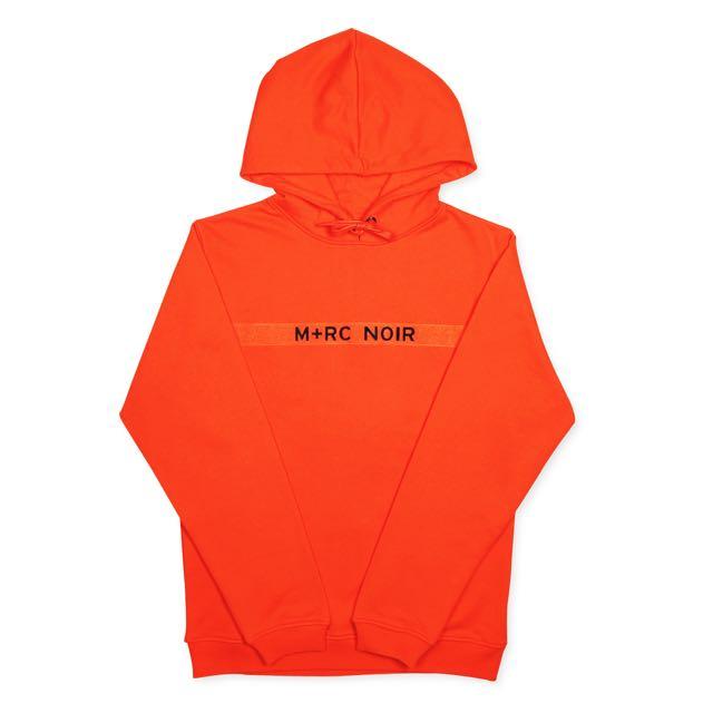 M+RC 帽T 經典魔鬼氈 橘