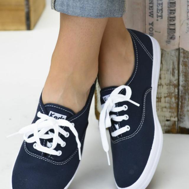 navy blue keds, Women's Fashion, Shoes