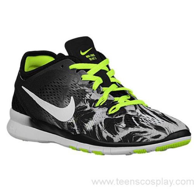 classic fit ee564 04db3 Nike Free 5.0 TR Fit 5 - Women's Training Shoes Selected Style: Black/Volt
