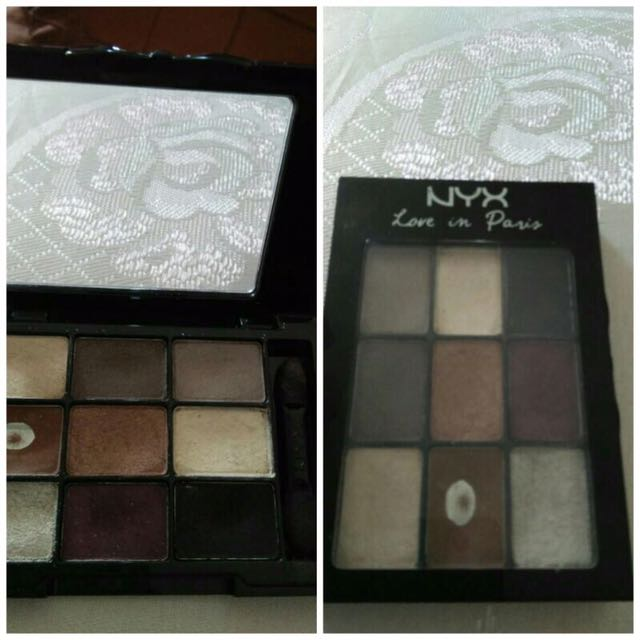 Nyx Eyeshadow Love In Paris