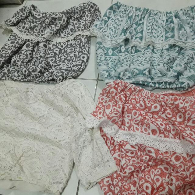 OFF SHOULDER CROPTOP (200 4 PCS)