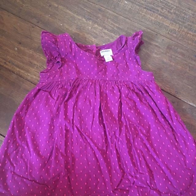 Old Navy Eyelet Baby Dress