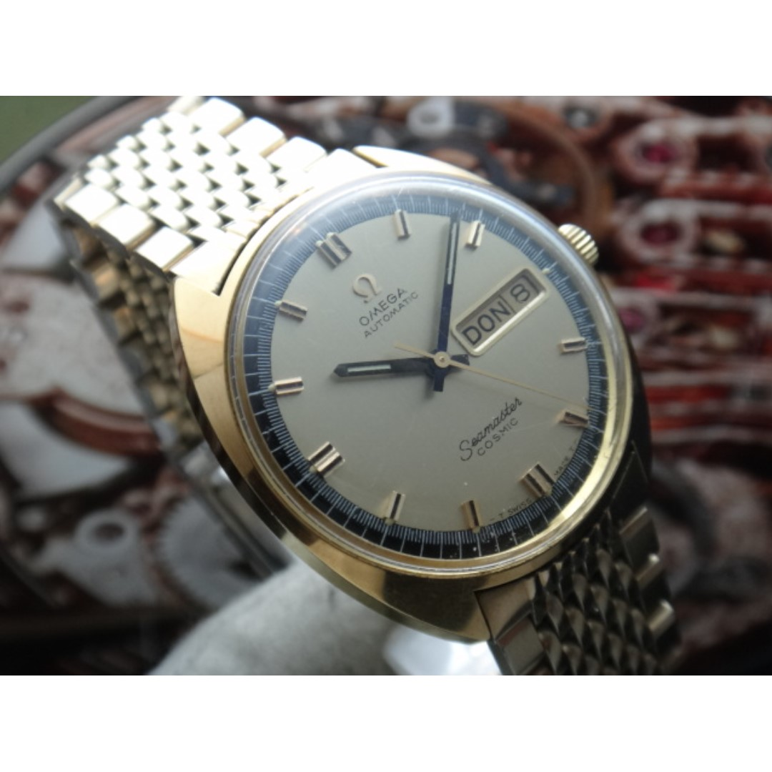 Omega Vintage Seamaster Cosmic Automatic Men Watch Men S Fashion