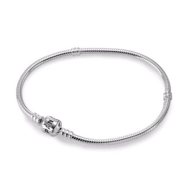 Pandora Sterling Silver Barrel Clasp