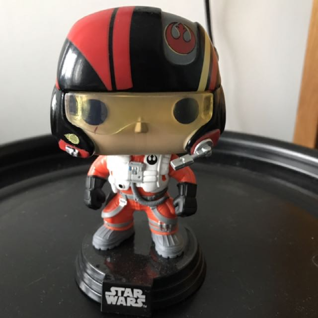 Poe Star Wars Pop (bobble Head)