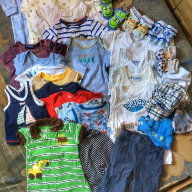 PRELOVED STUFF FOR BABY BOY