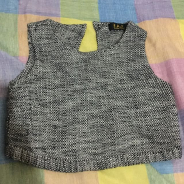 Rich And Famous Crop Top
