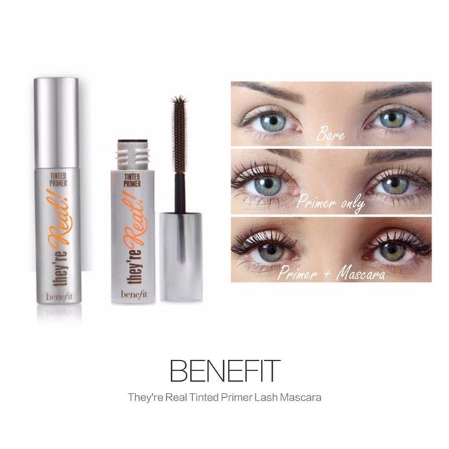 SAMPLE Benefit Tinted Lash Primer