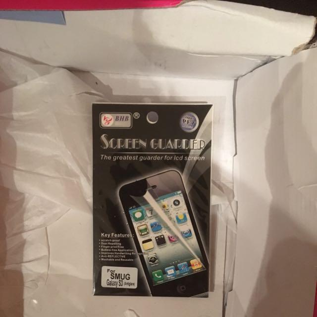 Samsung Galaxy 3 Screen Protector
