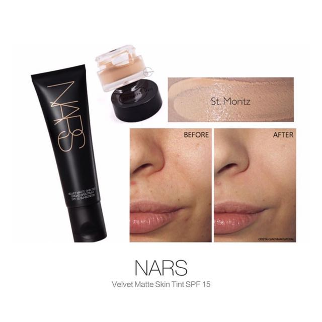 SHARED-in Nars Vervel Matte Skin Tint Spf 30