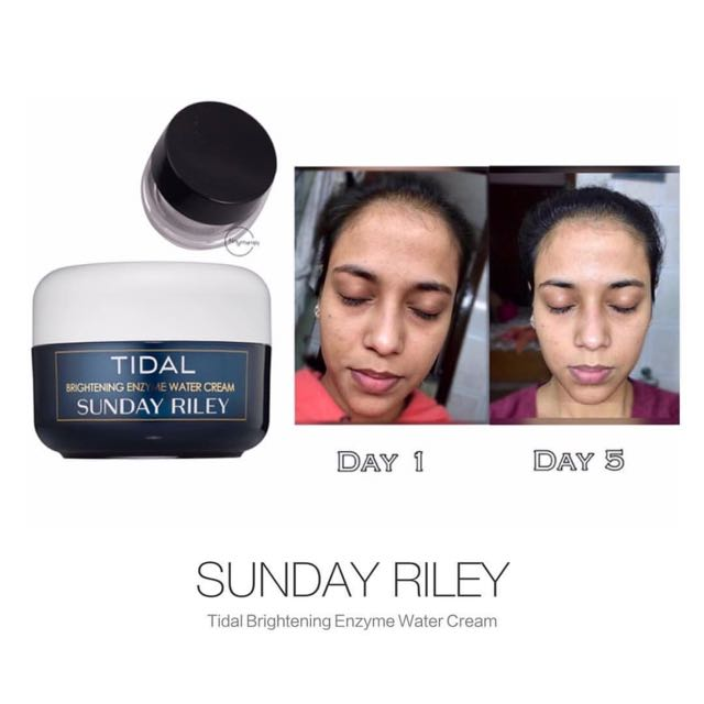 SHARED-in Sunday Riley Tidal Brightening Cream