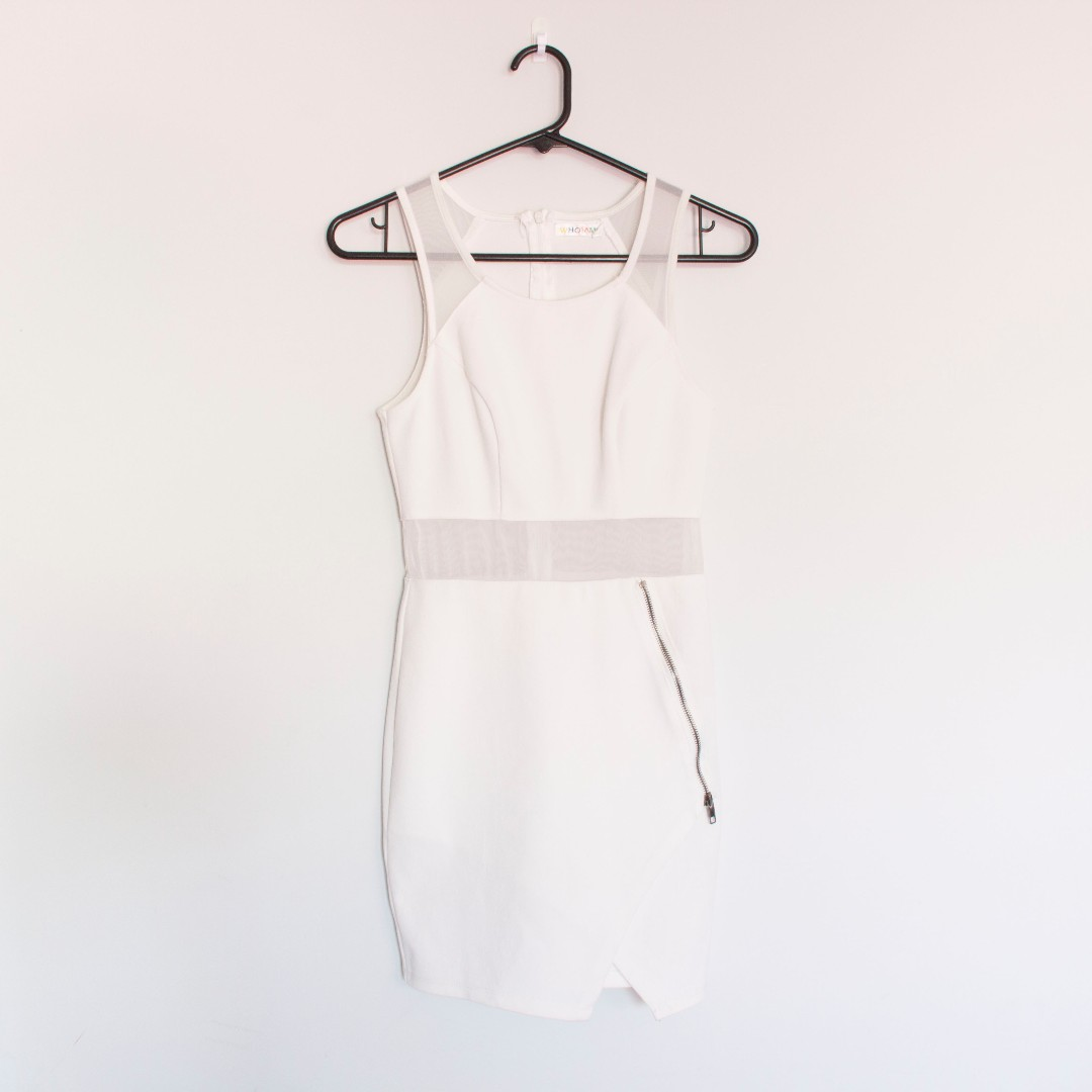 Size 8 White Dress