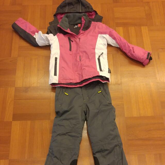 49b17db6c7 Girls Ski Jacket And Pants Set (aged 6-8)