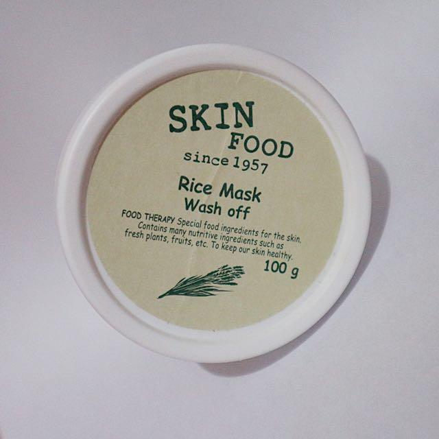 Skin Food Rice Mask Wash Off