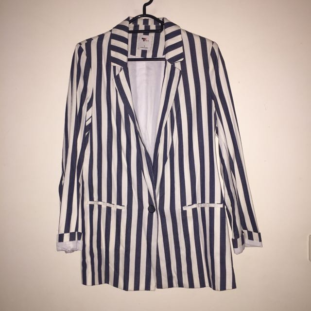 Striped Blazer
