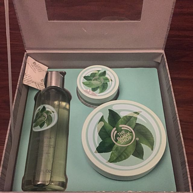 REPRICED - The Body Shop Green Tea Gift Box