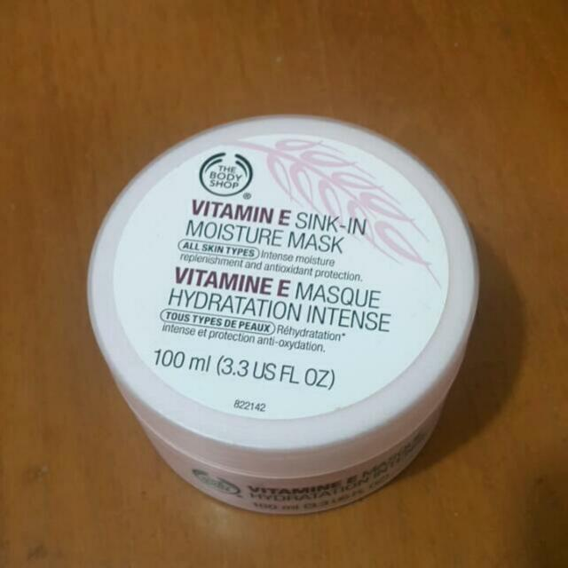 The Body Shop Vitamin E Moisture Mask