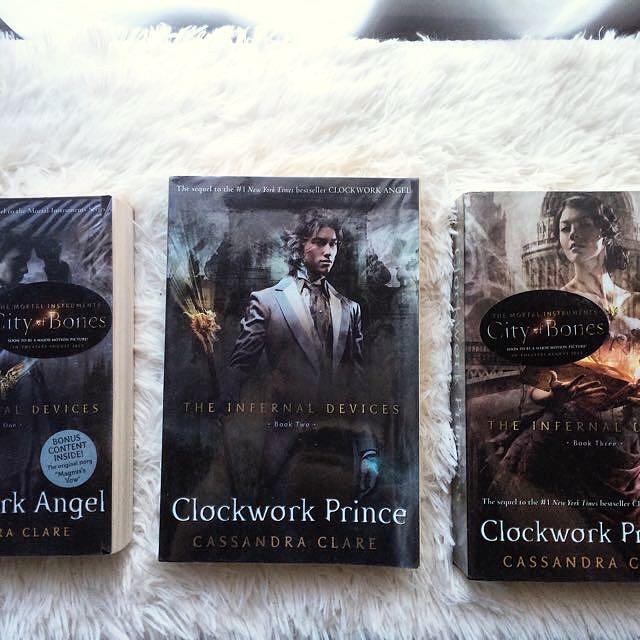 The Infernal Devices ( Clockwork Angel, Clockwork Prince, Clockwork Princess)