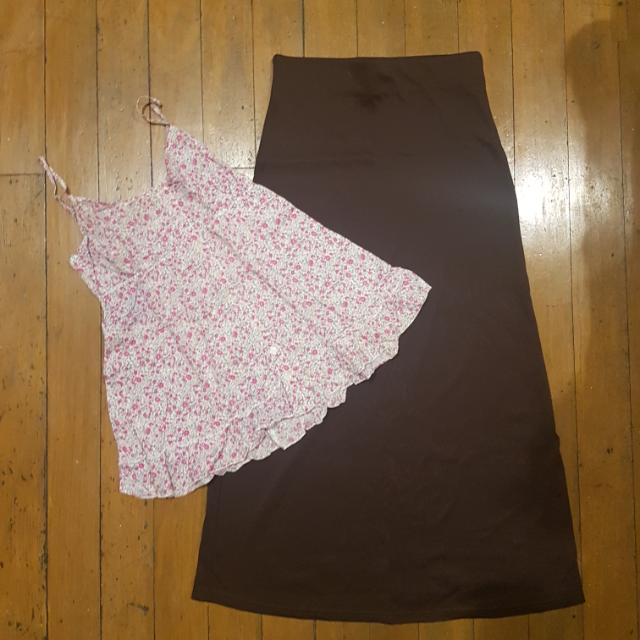 Top And Skirt Bundle