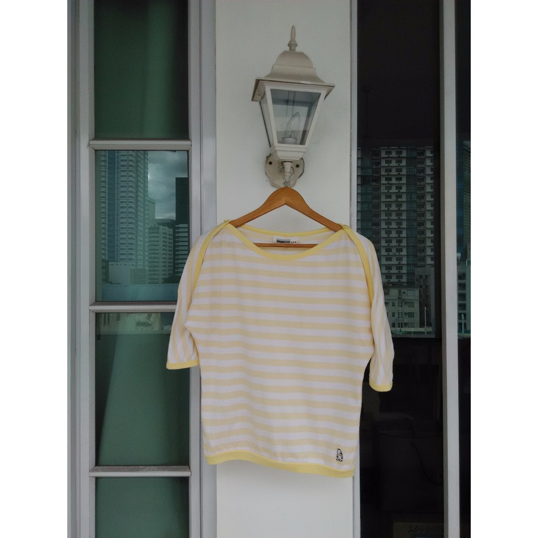 White & Yellow top