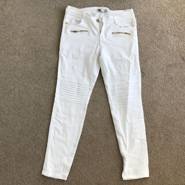 White Jeans Size 10