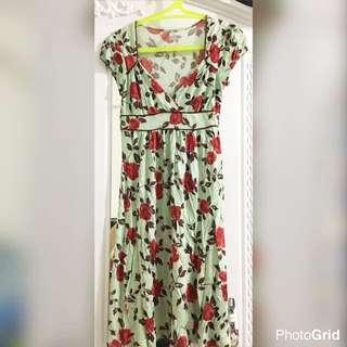 Floral Dress Rose