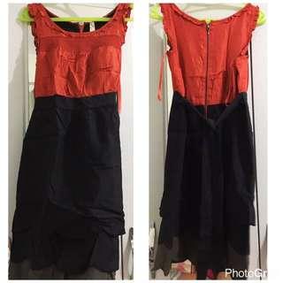 Black/Red Dress