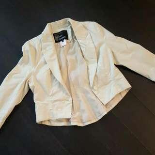Brand New Urban Behaviour White Blazer