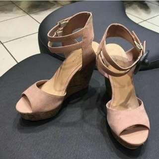 Newlook Nude Wedges