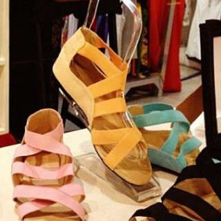 Tonic Strappy Sandals in Melon US6