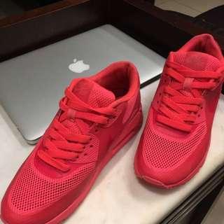 Nike Max 粉紅 螢光粉