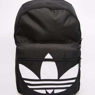 Adidas愛迪達三片葉厚背包