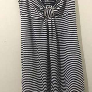Summer Dress In Stripes
