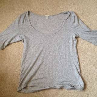 J. Crew Heather Grey T-Shirt