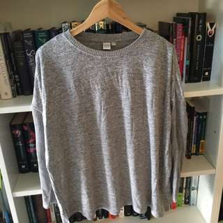 Twik Simons Grey Knit Sweater