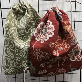 Drawstring Bags. DSTRING MNL designs Authentic