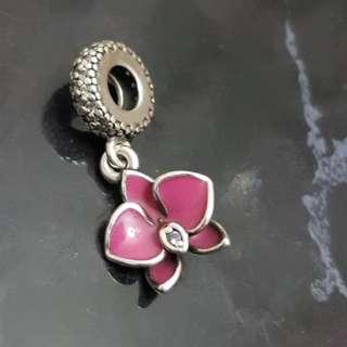 Pandora Lotus Charm