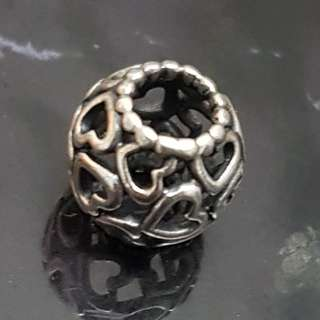 Pandora Connecting Heart Charm