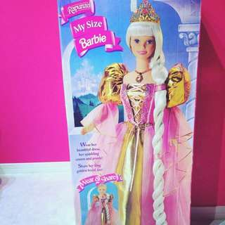 Rapunzel My Size Barbie