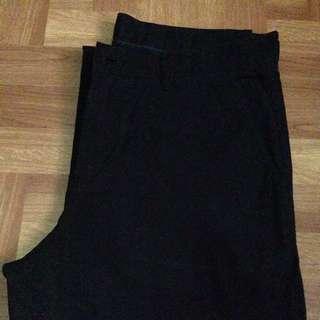 Authentic Lacoste Black Pants