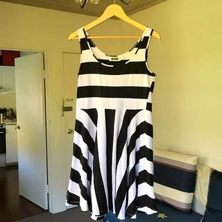 JORGE Sz L Striped Dress