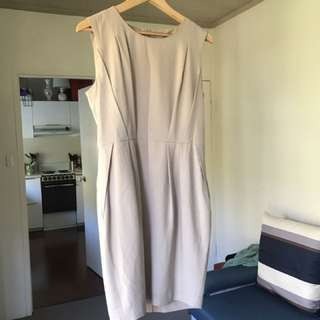 FORCAST SZ 12 Nude Work Dress