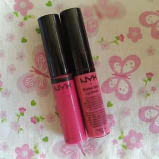 NYX XTREME SHINE LIP CREAM PINK