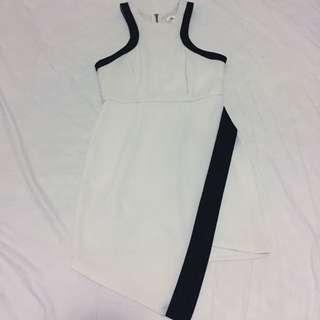 Maxim Black And White Dress