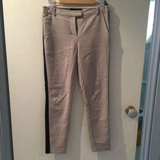 Forever new Size 6 Tanned Tailored Pants